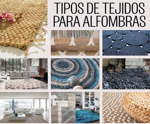 material fabricacion alfombras