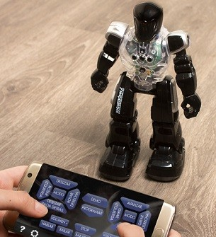 robot con control remoto montable armable