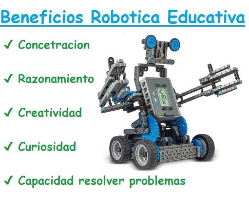 beneficios robotica educativa en niños