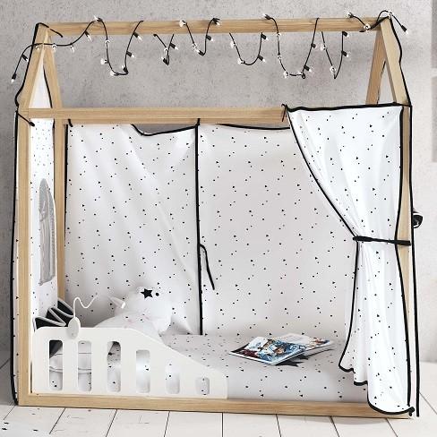 barreras para camas montessori o tipi