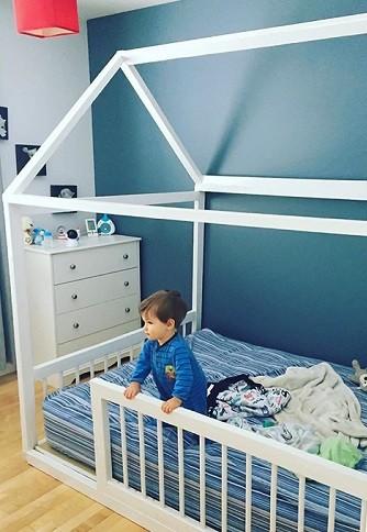 cama montessori evolutiva para bebes