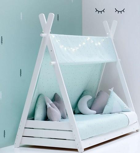 cama tipi para niños