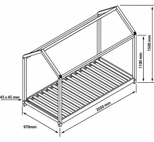 medidas camas montessori