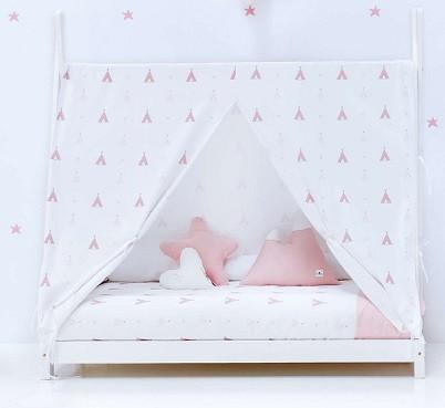 toldo para camas infantiles montessori