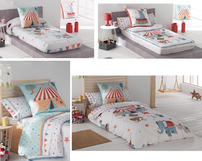 circus Tejidos JVR ropa cama infantil