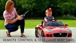 coche para niño autodirigido con control remoto