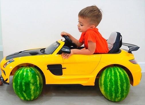 como deben ser vehiculos electricos para niños
