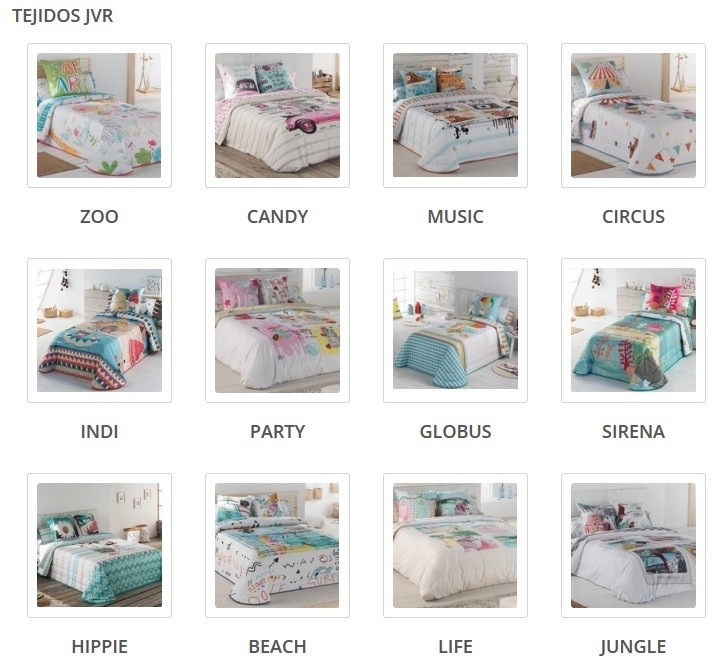tejidos JVR tienda online
