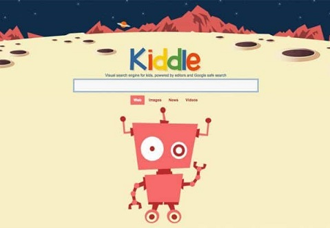 buscador infantil kiddle