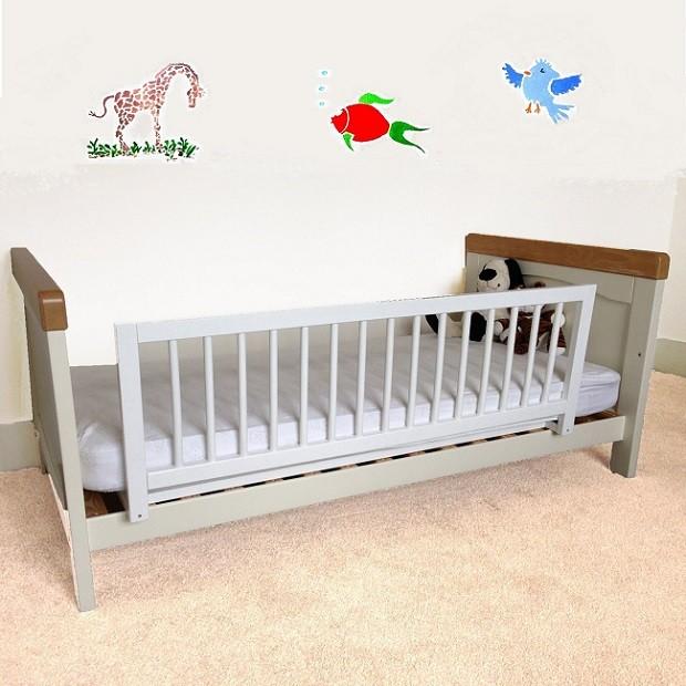 barandillas barreras de cama para niños