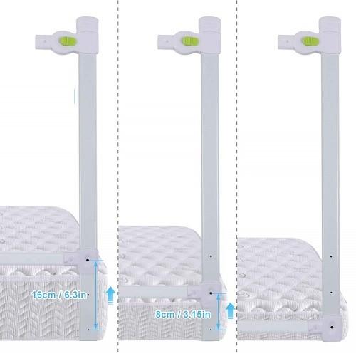 barrera cama niño regulable altura