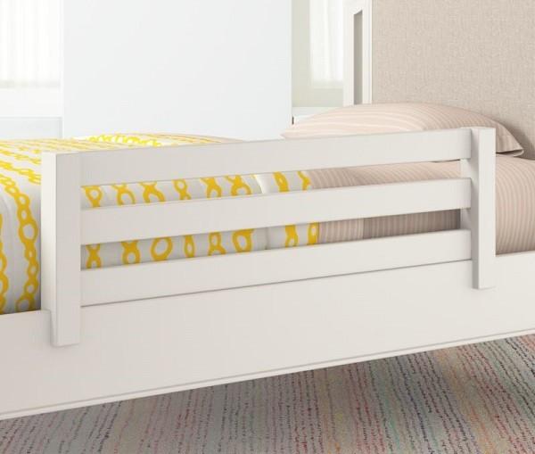 mejor barrera de madera para cama de niños