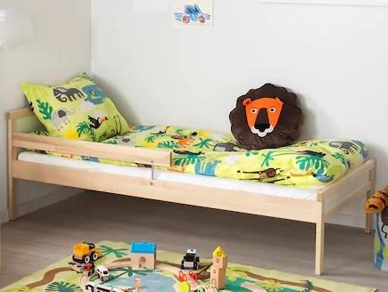 cama singlar de ikea para niños