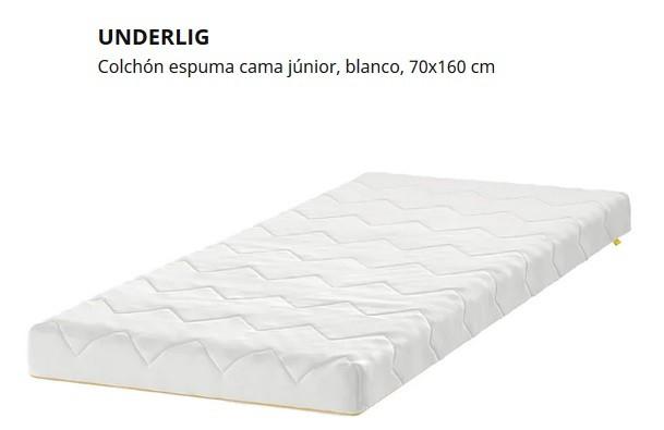 colchon ikea cama 70x160 cm
