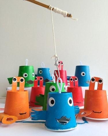 como hacer juegos para niños en casa con material reciclado