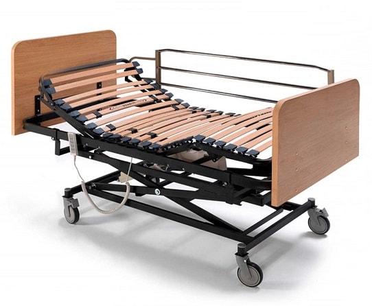cama geriatrica con elevador