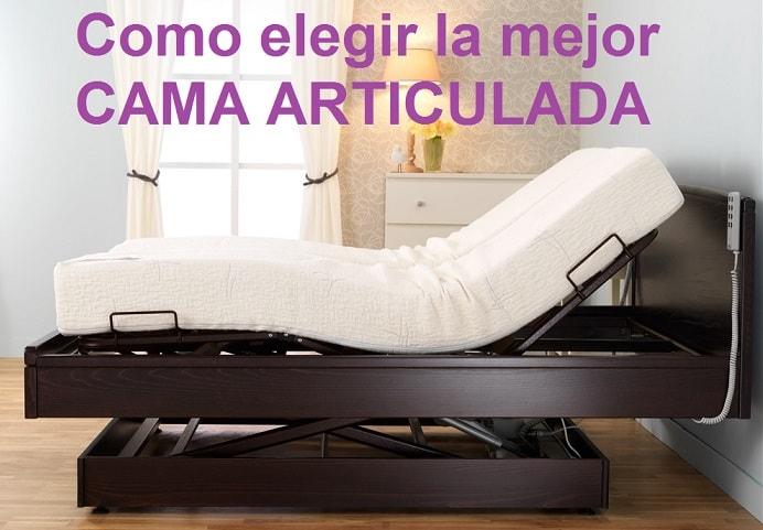 mejor cama articulada electrica ortopedica