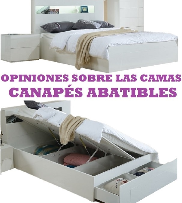 opinion cama canape abatible almacenaje