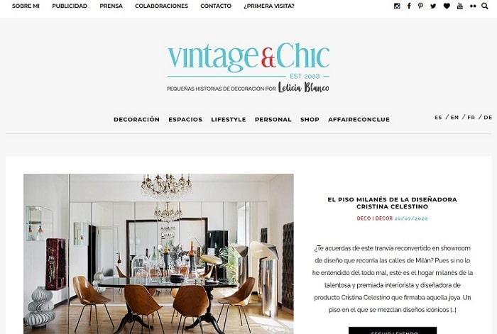 mejores blogs decoracion vintage