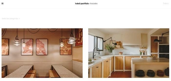 webs de diseñadores interiores