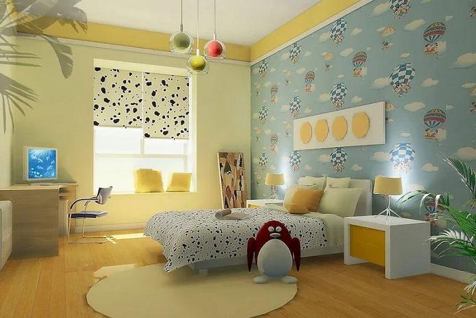 decoracion de paredes para habitacion de ninos