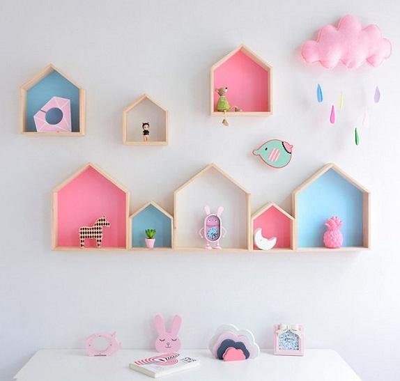 decorar con madera habitaciones de ninos
