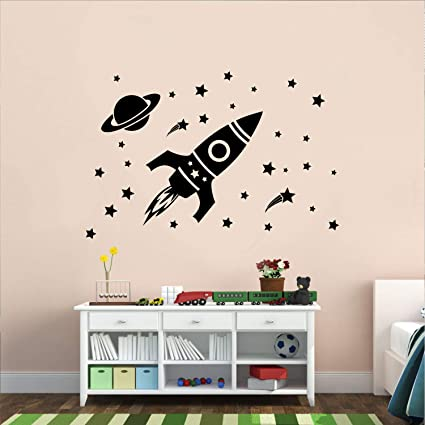 decorar con vinilos la pared dormitorio infantil