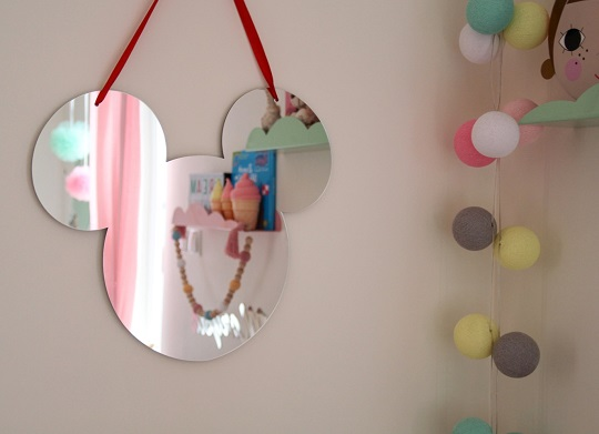 espejos para decorar dormitorio infantil