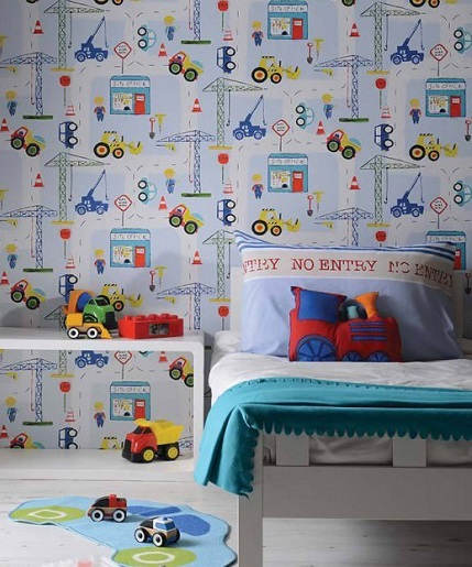 papeles pintados para cuarto de ninos