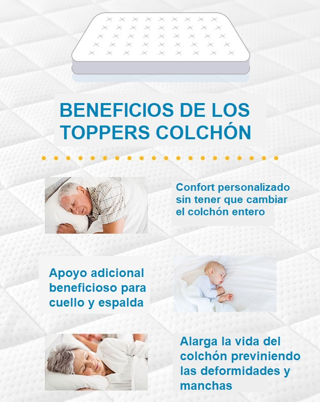 beneficios topper de colchon