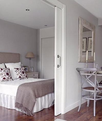 puertas deslizantes para pisos diminutos