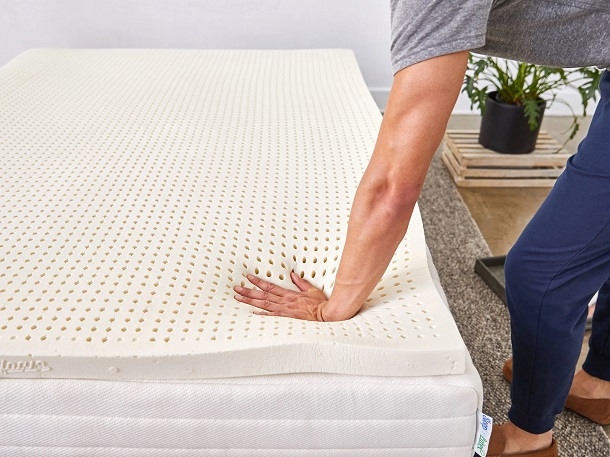 topper latex para colchon de cama