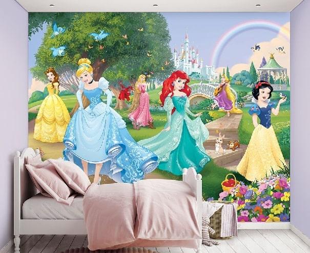 fotomurales princesas y castillos