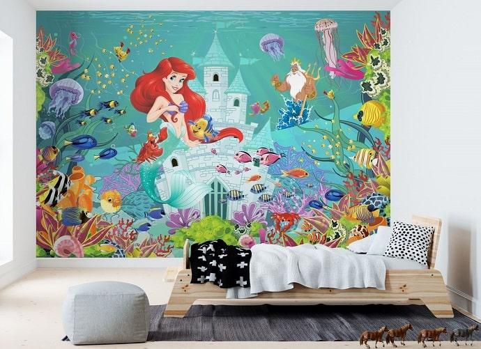 mural autoadhesivo de disney