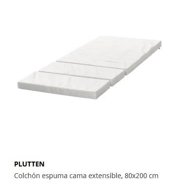 colchon para cama extensible ikea