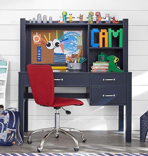 como decorar un escritorio infantil de ninos