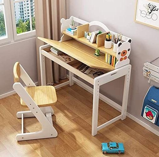 mesa de madera para habitaciones infantiles