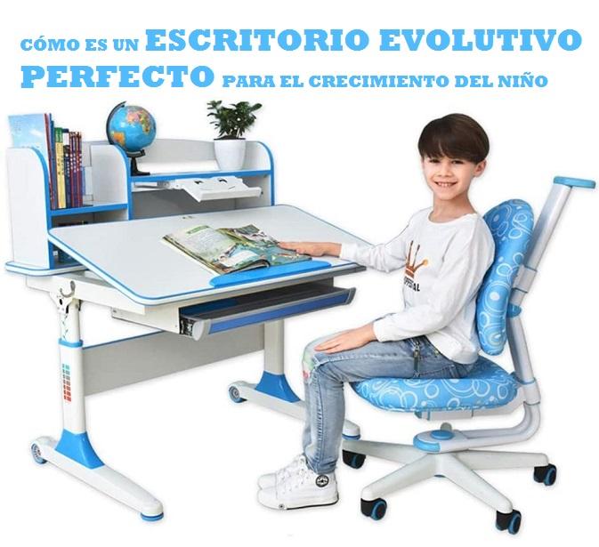 que debe tener un escritorio evolutivo infantil perfecto